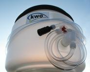 Behälter 30 Liter mit Füllschlauch